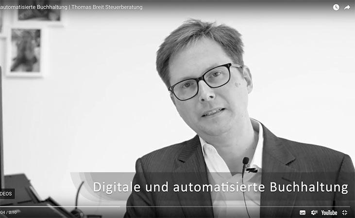 automatisierte digitale Buchhaltung