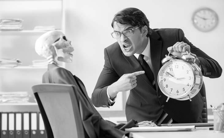 Top 4 Themen Unternehmensübernahme und Zeitdruck