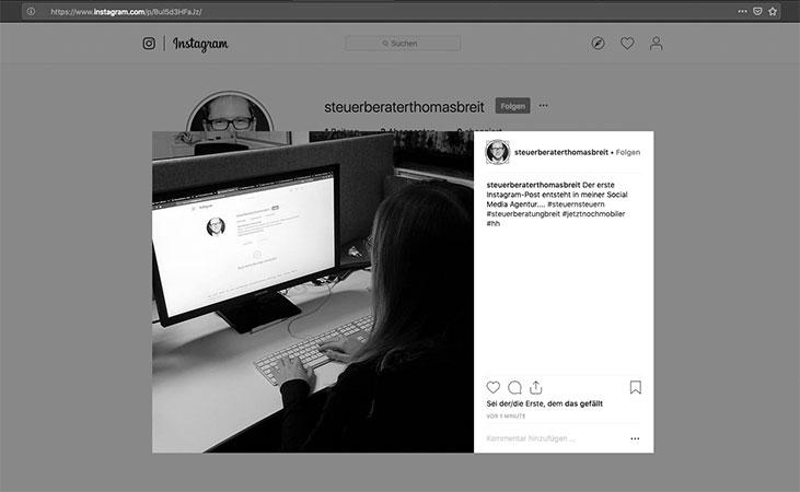 Steuerberatung Breit auf Instagram